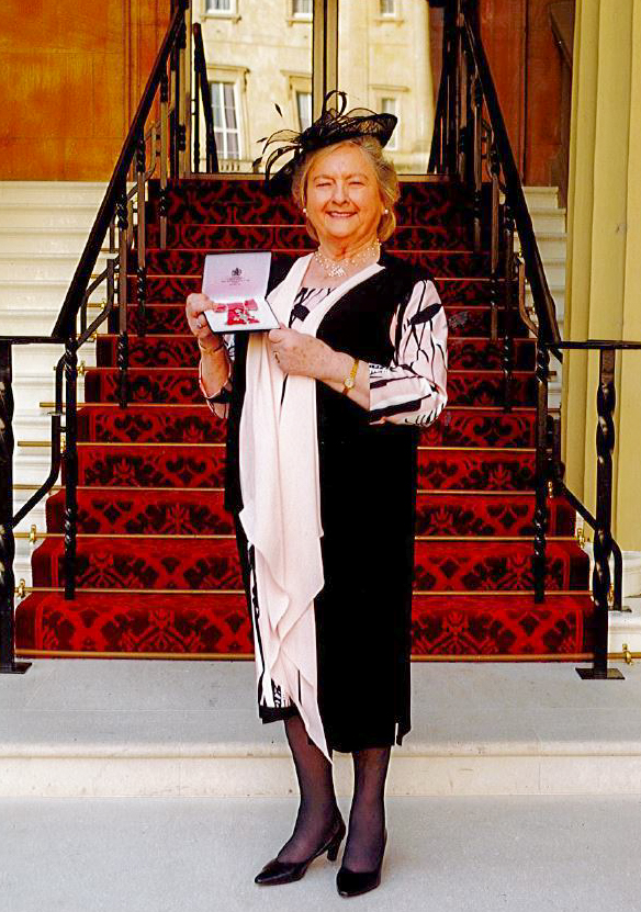 Wendy Coomer MBE