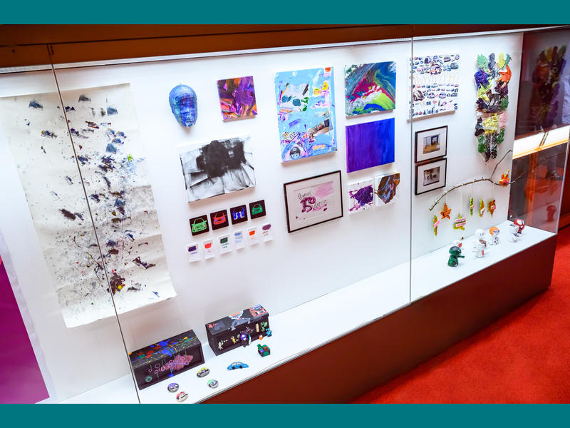 Part of our 150 Artsits Exhibition at The Lowry.