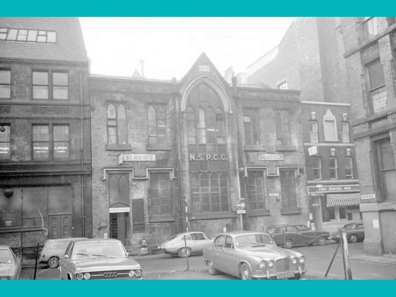St Ann's Sunday school, 1970's Manchester