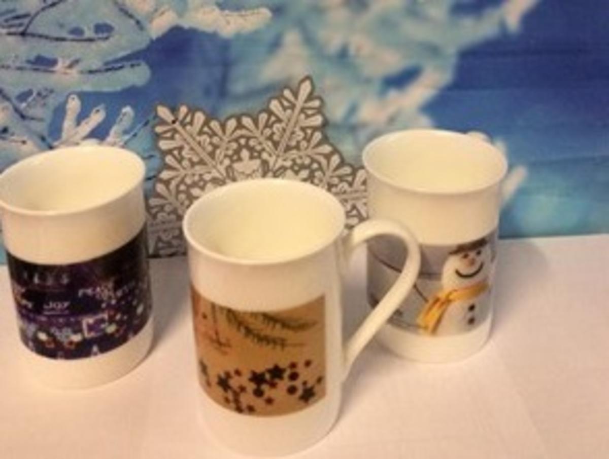 Mugs created at Bridge College