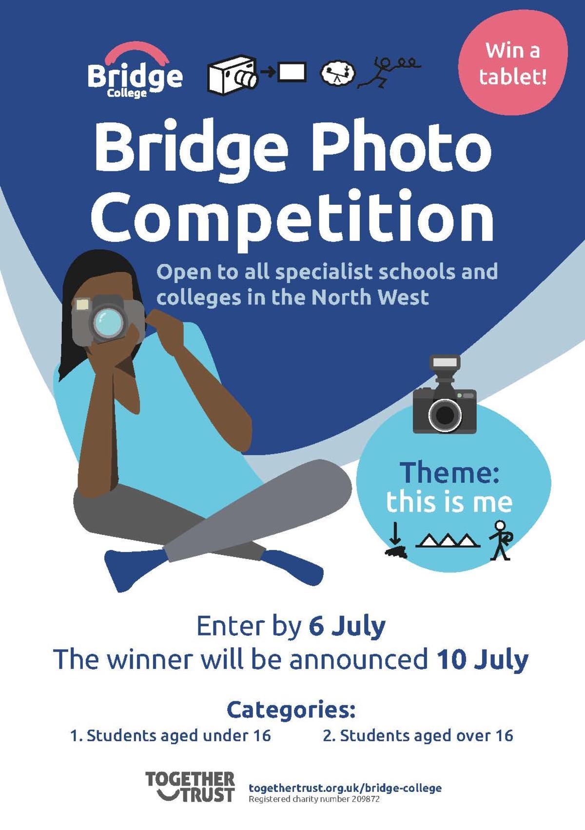 Bridge College specialist schools photo competition