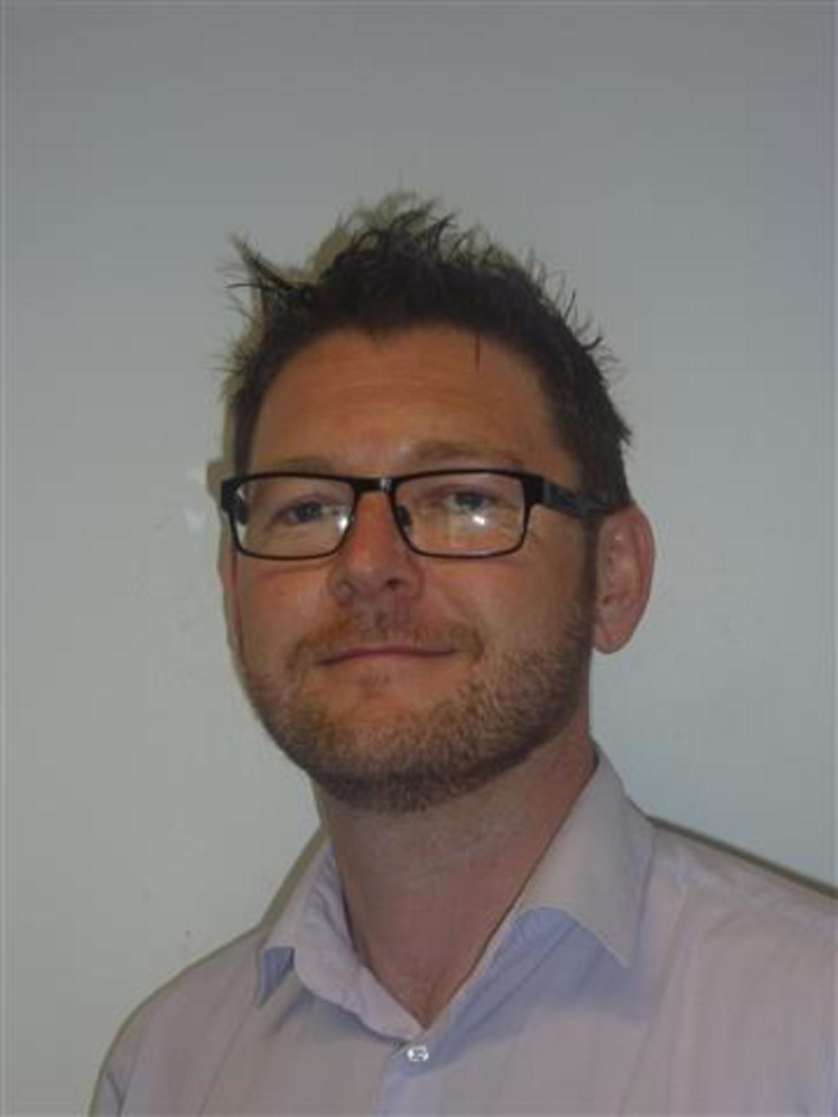 Photograph of Darren Evans
