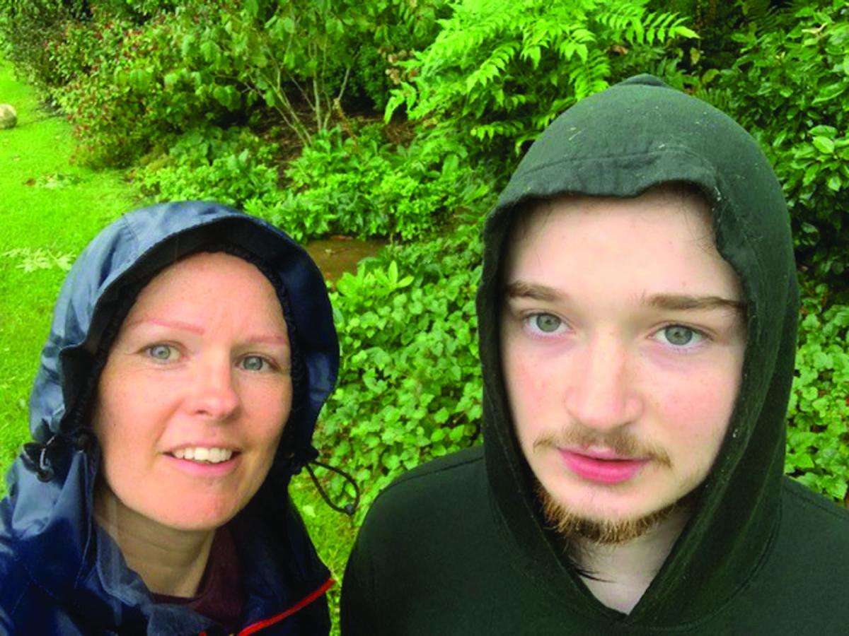 Michelle with Owen