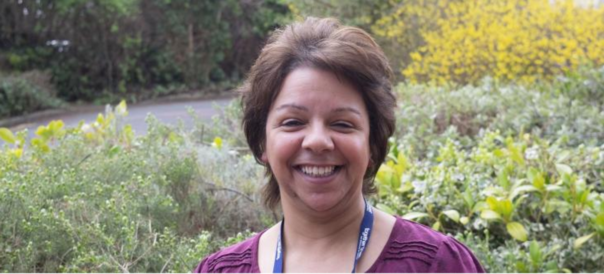 A photo of Mandy, our Community services manager, smiling