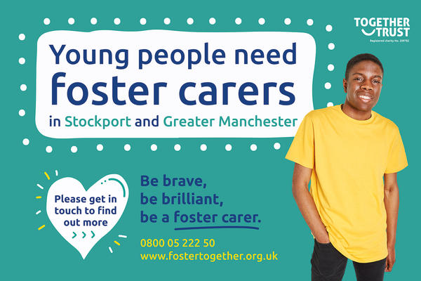 Be Brave Be brilliant be a foster carer