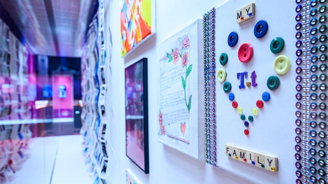 Part of the Together Trusts 150 Artists Exhibition at the Lowry Centre