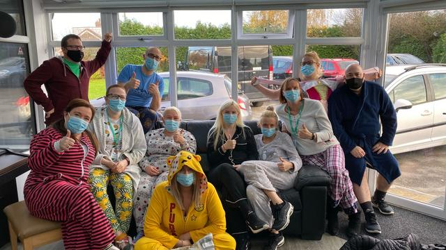 The Woodlands team and Children in Need Day